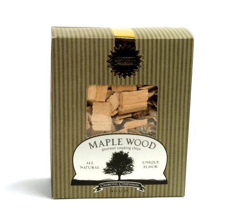 Charcoal Companion Maple Wood Gourmet Smoking Chips