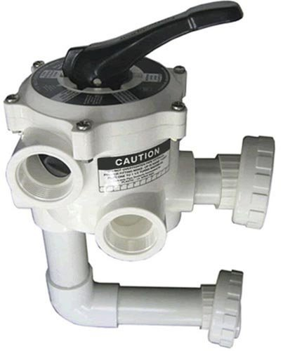 Sta-Rite 18201-0200 ABS 6-Position Multiport Valve, 2 Inch Valve Port with Piping, Union Connection Design (Swimming Pool Valves compare prices)