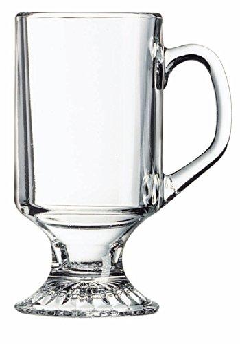 Serve Slow Cooker Spiced Mulled Wine in Arc International Luminarc Irish Footed Mug, Set of 4