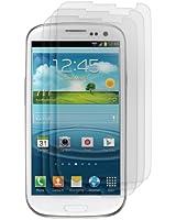 3x kwmobile film de protection pour écran MAT et ANTI-REFLETS avec effet anti-traces de doigts pour Samsung Galaxy S3 i9300 / S3 Neo i9301. QUALITÉ SUPÉRIEURE