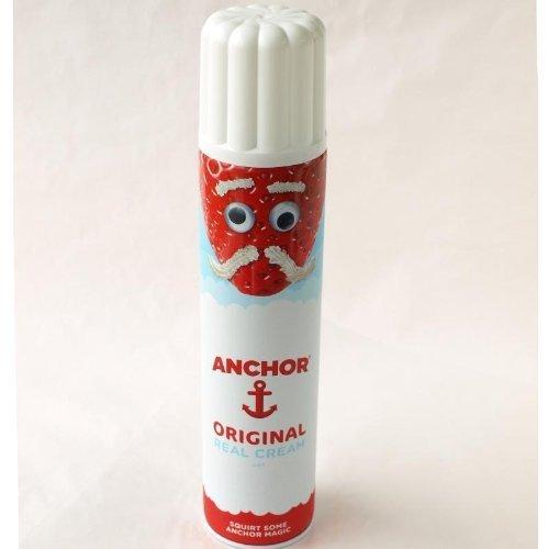 アンカー リアルデーリークリーム Anchor Real Dairy Cream スプレータイプホイップクリーム 500g 要冷蔵
