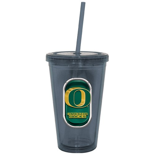 Ncaa Oregon Ducks Sip N Go Tumbler, 16-Ounce