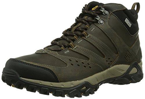 Columbia Peakfreak Xcrsn Mid Leather Outdry Scarpe da Trekking, Uomo, Marrone (255), 8
