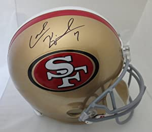 Colin Kaepernick Autographed San Francisco 49ers Full Size Football Signed Helmet by Powers Collectibles