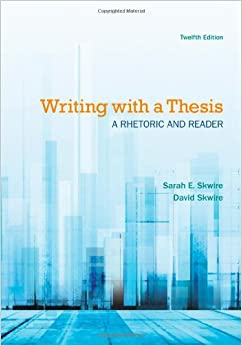 Infotrac reader rhetoric thesis writing
