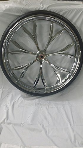 HARLEY DAVIDSON 30x4 CHROME PERFORMANCE MACHINE PARAMOUNT WHEEL AND 30