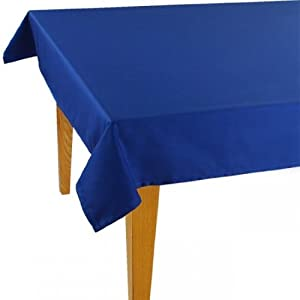 Amazon.com - Jacquard Cotton/Polyester Tablecloth Solid