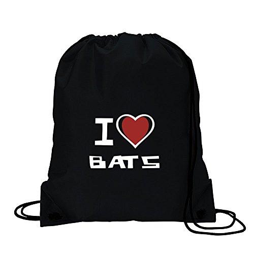 I love Bats-Borsa sportiva