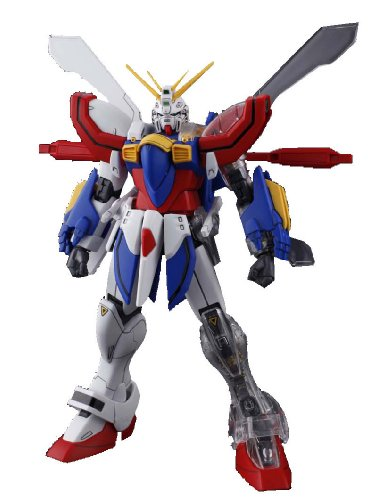 Gundam GF13-017NJII God Gundam with Extra Clear Body parts MG 1/100 Scale