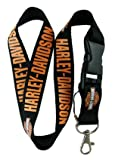 Harley Davidson Lanyard Keychain Holder with Buckle