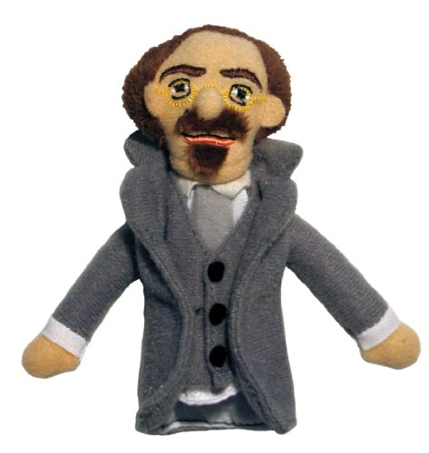 Sholom Aleichem Finger Puppet and Refrigerator Magnet - By The Unemployed Philosophers Guild