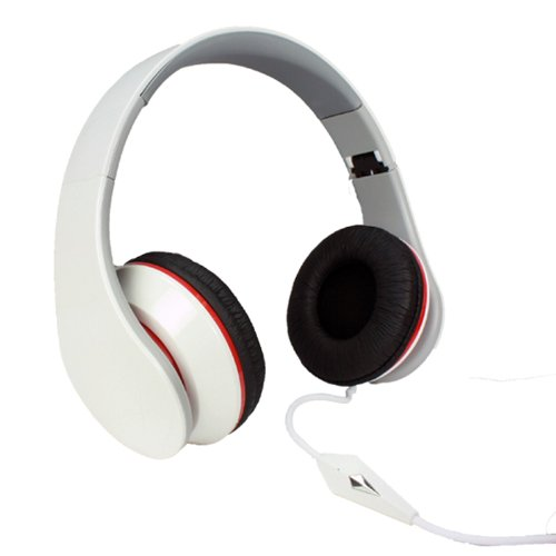 Staudio Freqtx4 3.5Mm On-Ear Headphones With Mic - Retail Packaging - White