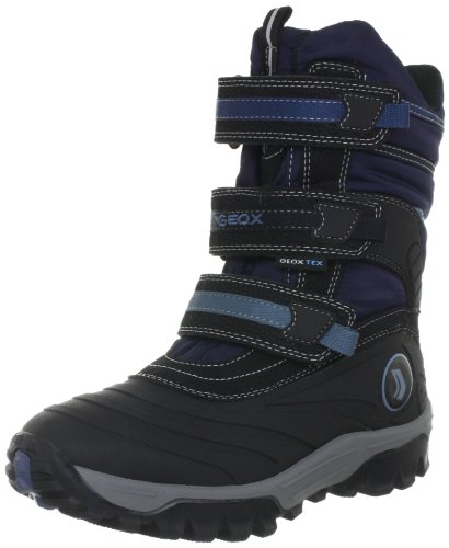 Geox J HIMALAYA WPF C Boots Boys Blue Blau (NAVY/SKY C4231) Size: 26