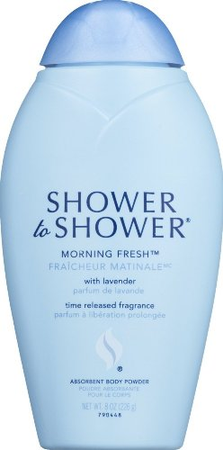Shower To Shower Morning Fresh Absorbent Body Powder With Lavender