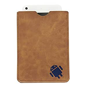BRAIN FREEZER 7INCH ANDROID CARRY CASE POUCH FOR MICROMAX P600 BROWN