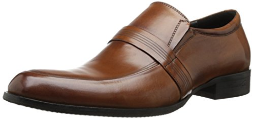 Kenneth Cole New York Men'S Goose Bump Leather Slip-On Loafer,Cognac,12 M Us