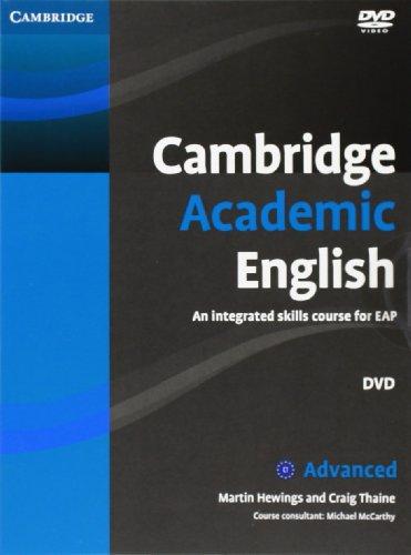 Cambridge Academic English C1 Advanced Class Audio CD and DVD Pack