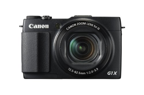 Canon PowerShot G1 X Mark II Digital Camera - Wi-Fi Enabled