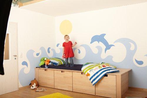 Bunte w nde profitipps zur farbgestaltung diy by for Farbgestaltung kinderzimmer streichen