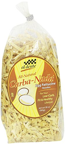 Carba-Nada Low Carb Egg Fettuccine Pasta 10 oz. bag