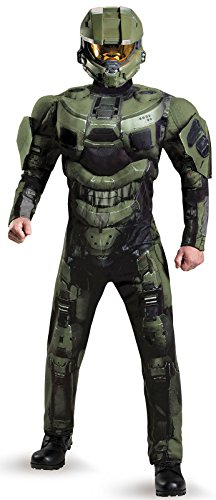 Halo Muscle Master Chief Adult Costume