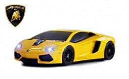 Lamborghini Aventador Wireless Mouse (Yellow)