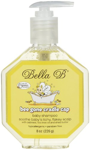 Bella B Bee Gone Cradle Cap Baby Shampoo 8 Oz - 1