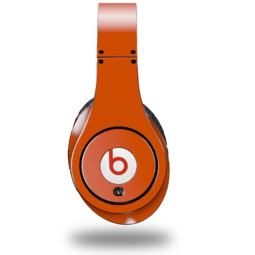 Solids Collection Burnt Orange Decal Style Skin (Fits Original Beats Studio Headphones - Headphones Not Included)