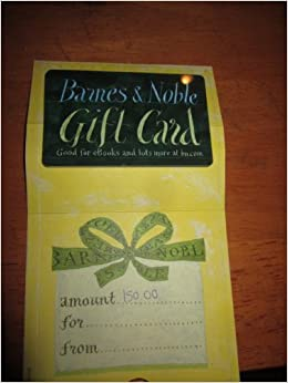 Borders books gift cards at barnes and noble