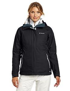 Columbia Women's Vertical Convert Interchange Jacket, Black, Small