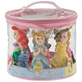 Disney World Parks Exclusive Princess Bath Tub Pool Squeeze Toys 5 Pc. Set Belle Ariel Cinderella Aurora Snow White - NEW