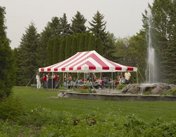 15ft X 15ft - Eureka Traditional Party Canopy