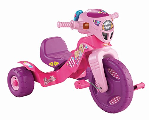 Discover Bargain Fisher-Price Barbie Lights and Sounds Trike