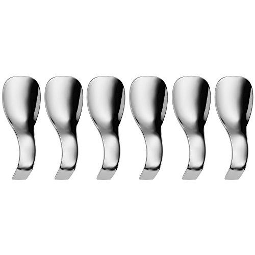 WMF Set de cuillères 1292016040amuse-gueules Nuova, acier inoxydable, argent, 6pièces