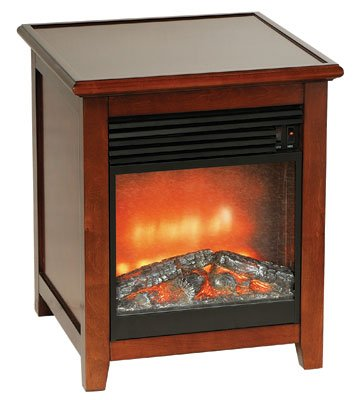 Stonegate® End Table Fireplace photo B0046MCPH4.jpg