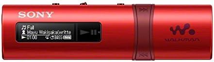 Sony NWZ-B183R.CEW Lecteur MP3 4Go LCD USB Autonomie 18h  Rouge