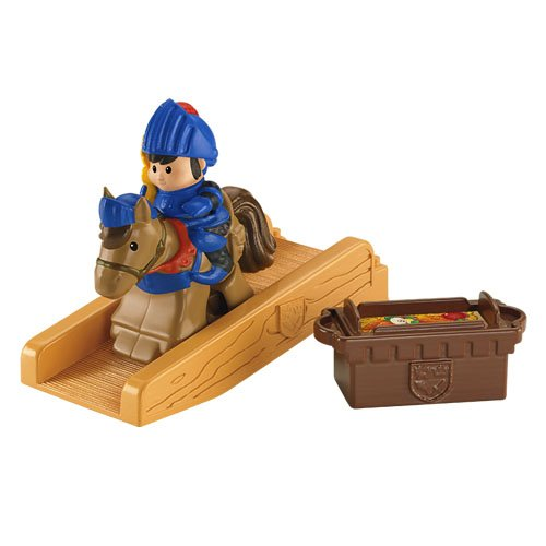 Fisher-Price Little People Mike The Knight Klip Klop Mike Figure Pack