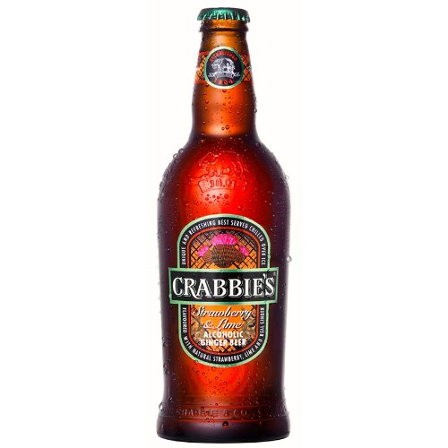 Crabbies Strawberry & Lime Ginger Beer (8 x 500ml)
