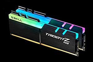 G.Skill 32GB DDR4 TridentZ RGB 4000Mhz PC4-32000 CL19 1.35V Dual Channel Kit (2x16GB) 19-19-19-39 (Tamaño: 32 Gb)