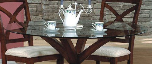 Cheap 54-Inch Round Beveled Glass Table Top – Coaster CB54RD (VF_CB54RD)