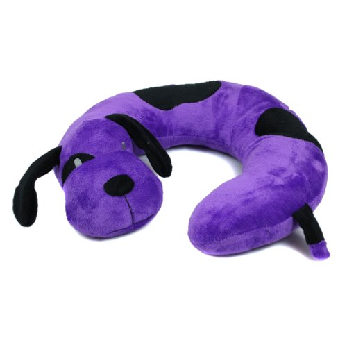 Animal Characters Travel Pillow Raccoon - 1