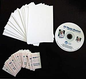 Instant Glass Photo Jewelry Making Supplies Kit