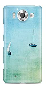 Lumia 950 Back Cover by Vcrome,Premium Quality Designer Printed Lightweight Slim Fit Matte Finish Hard Case Back Cover for Lumia 950