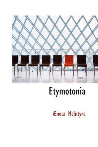 Etymotonia