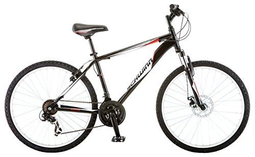 Schwinn Men's High Plains Mountain Bike, Black, 18