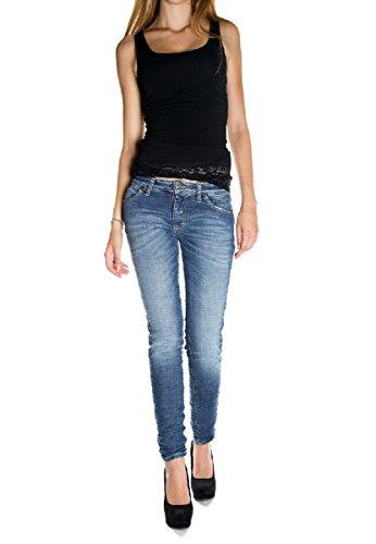 PLEASE - P95 jeans da donna stropicciato xs denim