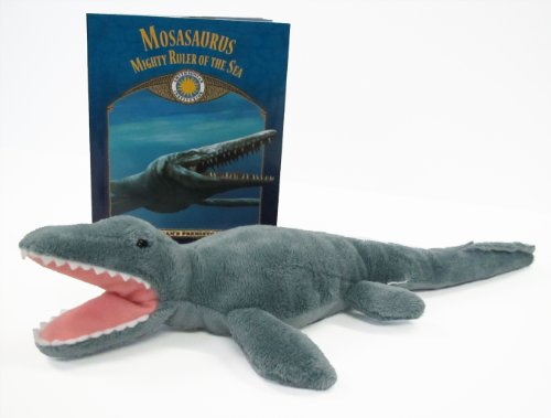 Mosasaurus: Ruler of the Sea (Prehistoric Pals Book & Toy Set) (Mini book with stuffed toy dinosaur) (Smithsonian's Prehistoric Pals)