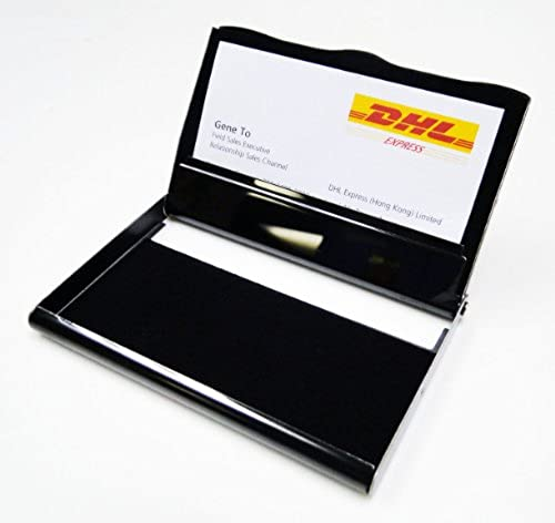 08. Business Name Card Holder Stainless Steel Case