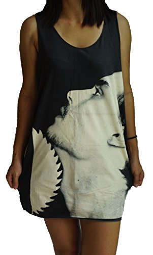 Johnny Depp Vest Tank-Top Singlet T-Shirt XL Black (Johnny Depp Tank Top compare prices)