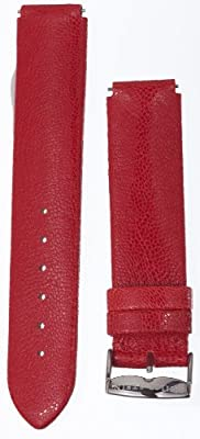 Philip Stein Red Pashmina Leather Strap 2-CPR